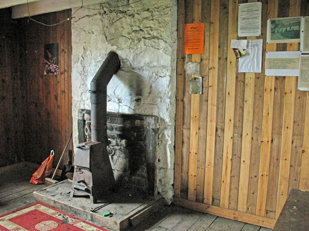 Interior Views Of Burleywhag Bothy